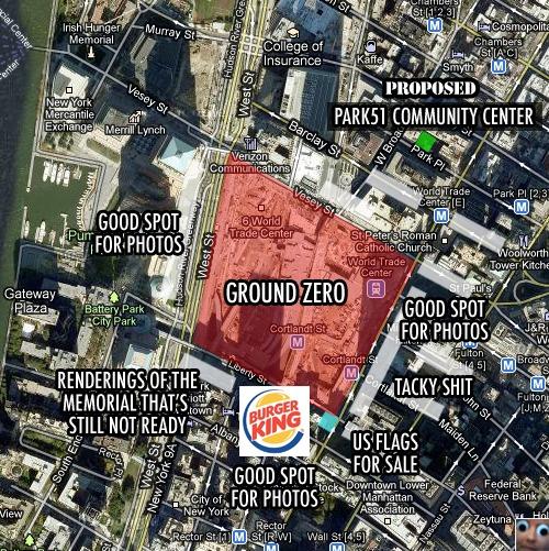 Not so Ground Zero-y
