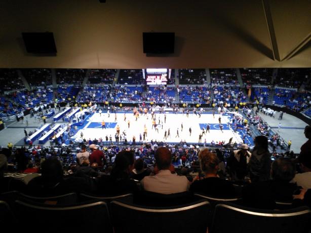 Knicks-Nets Nassau Coliseum