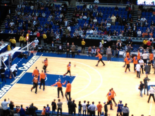 New York Knicks Preseason Pregame